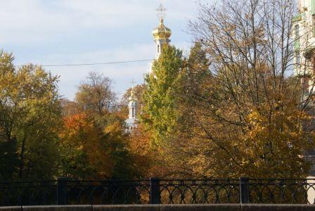 а мосту Карповки