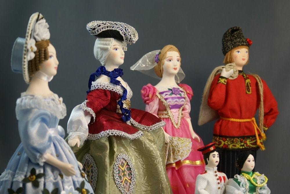 Мастер-классы по сувенирной фарфоровой кукле.