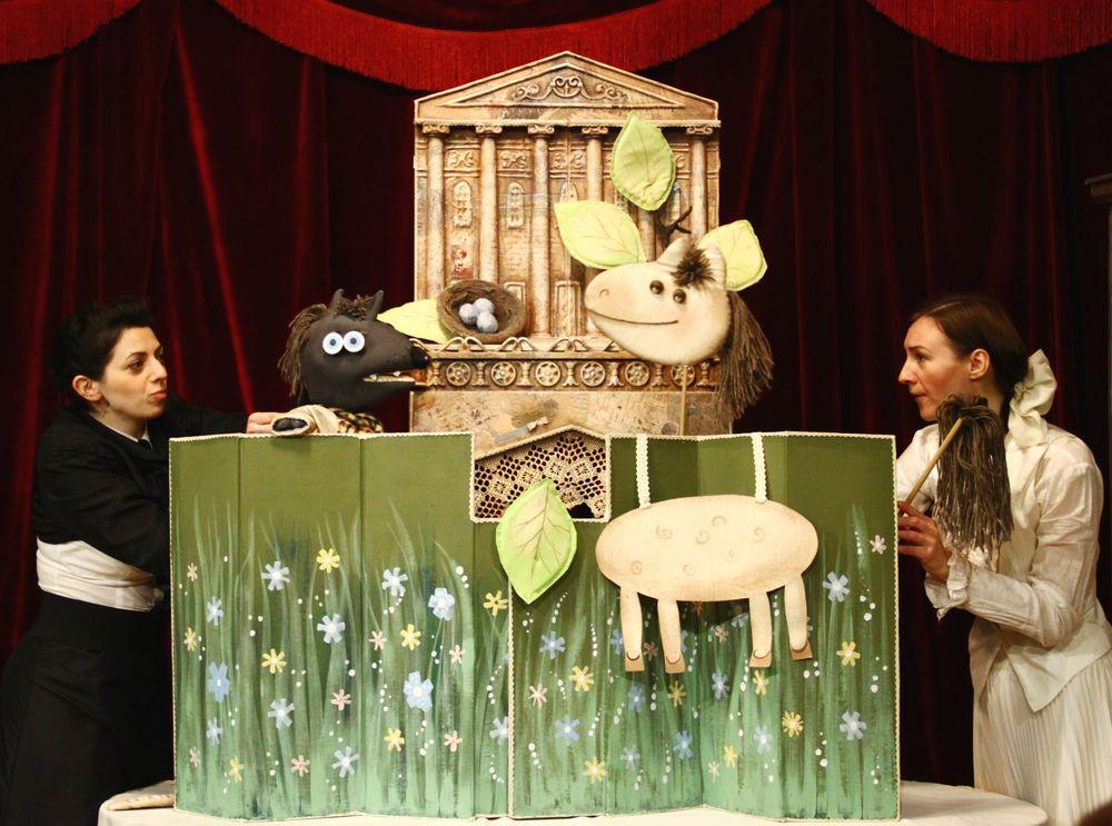 29 октября — спектакль «Сказки Шаляпина» (театр «Без занавеса»)- спектакль прошел