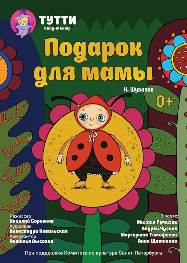 Спектакль «Подарок для мамы» (театр «Тутти») 15 октября в 16-00
