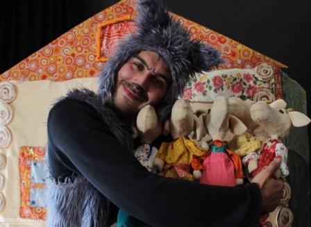 Февральские спектакли в музее Кукол!