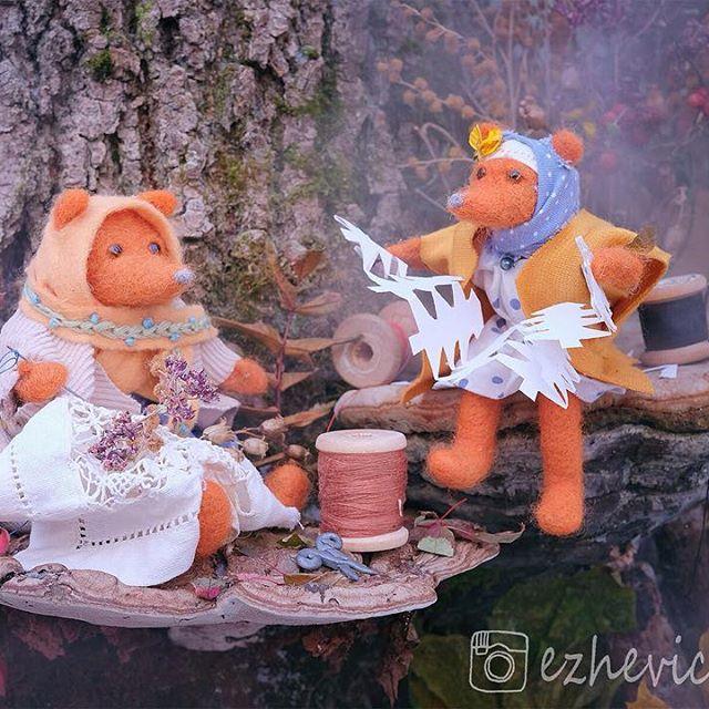Сказочная выставка «Лисички из Ежевичкино»