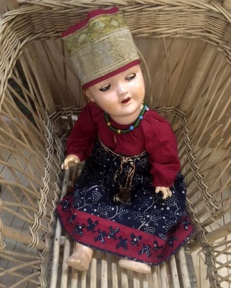 """Новая выставка в Петербургском музее кукол """"Магический круг игр"""""""