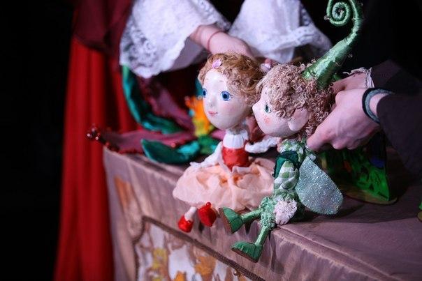 Афиша спектаклей в Петербургском музее кукол